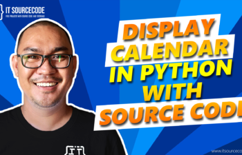 display calendar in python with source code