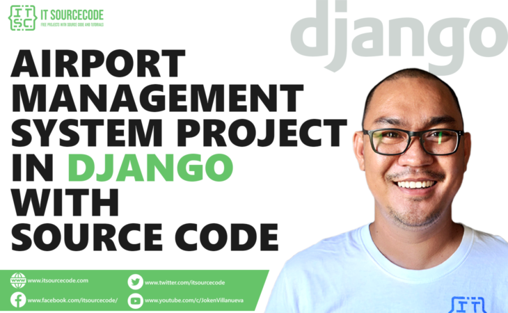 Airport Management System Project in Django with Source Code