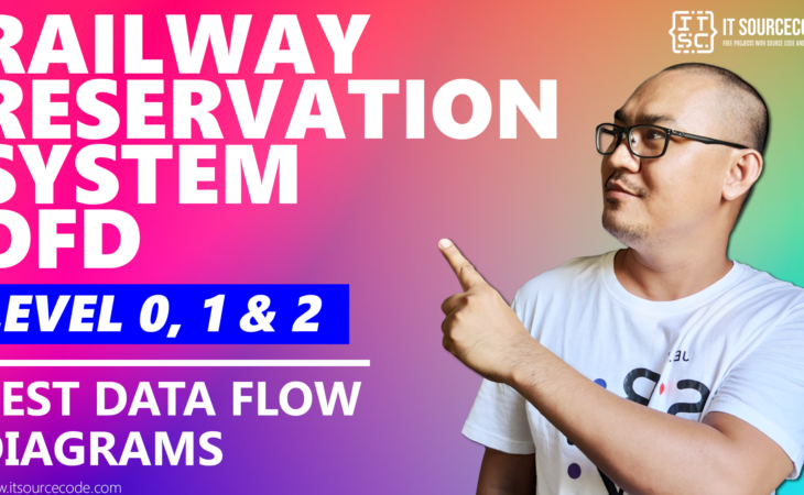 Best Data Flow Diagram - Railway Reservation System DFD Level 0 1 2 - 2021