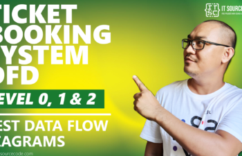 Best Data Flow Diagram - Ticket Booking System DFD Level 0 1 2 - 2021
