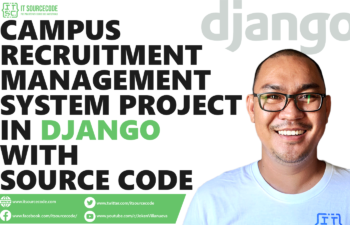 Campus Recruitment Management System Project in Django with Source Code