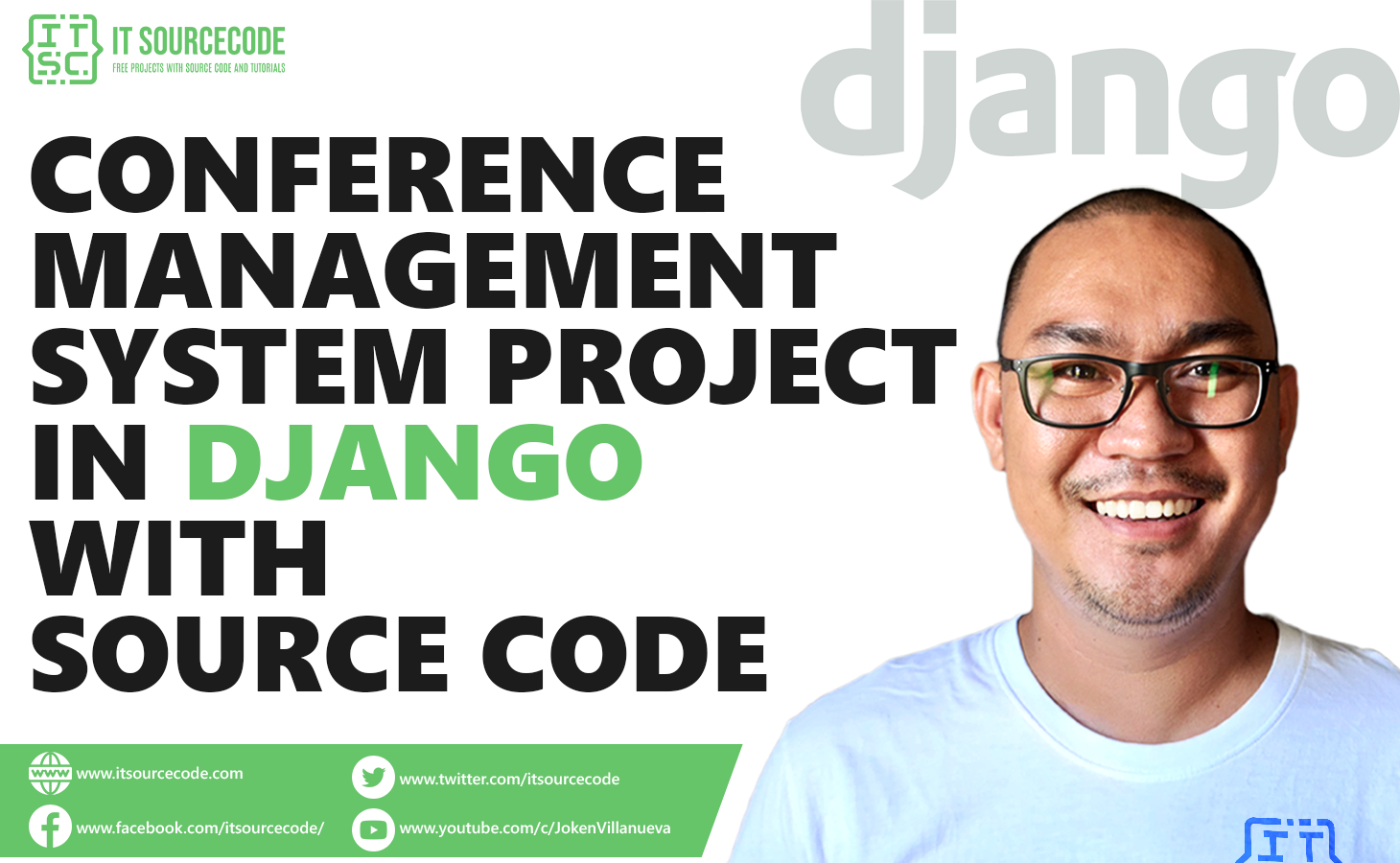 Conference Management System Project in Django with Source Code