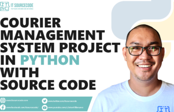 Courier Management System Project In Python With Source Code