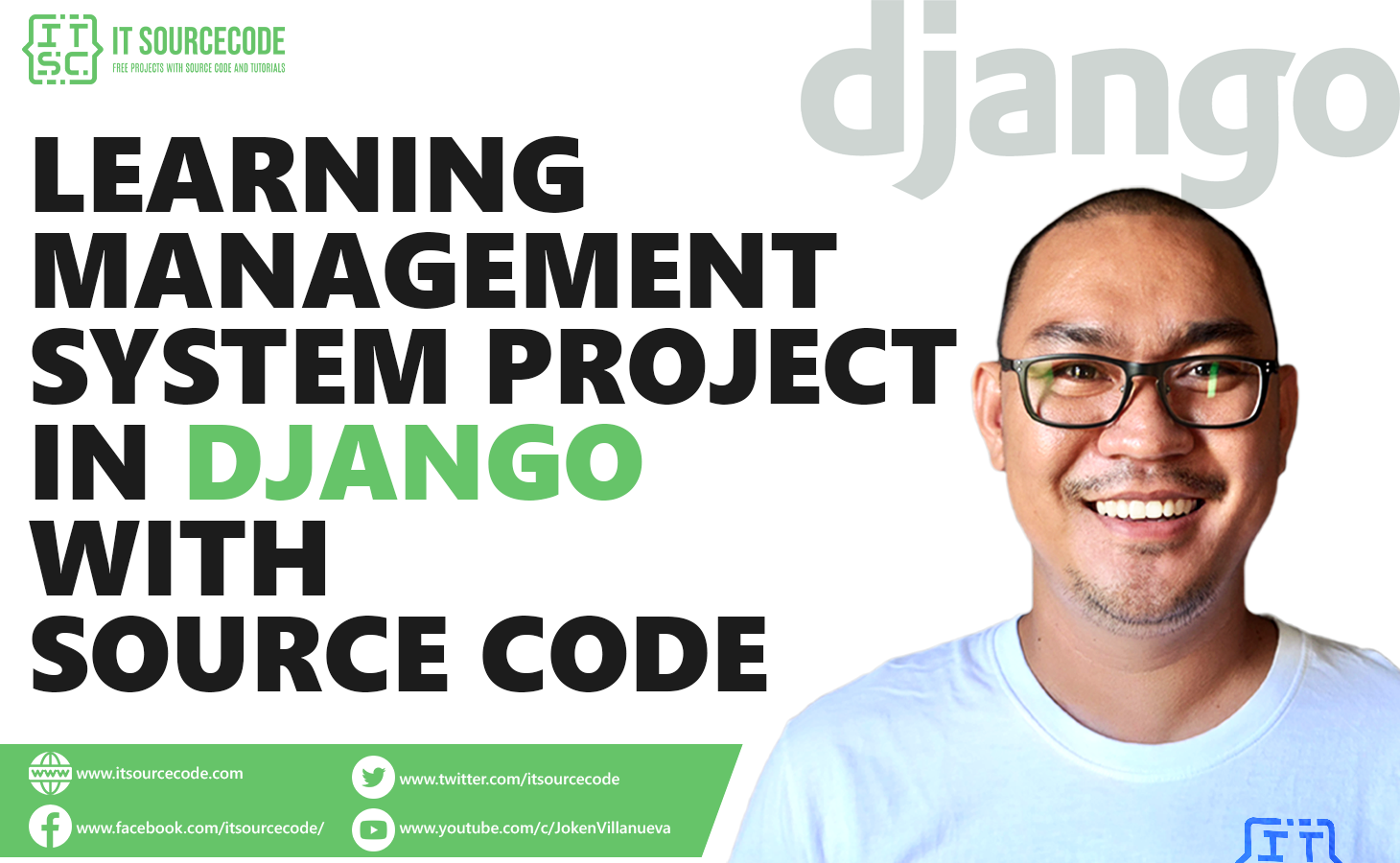 Learning Management System Project in Django with Source Code