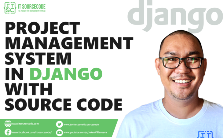 Project Management System in Django with Source Code