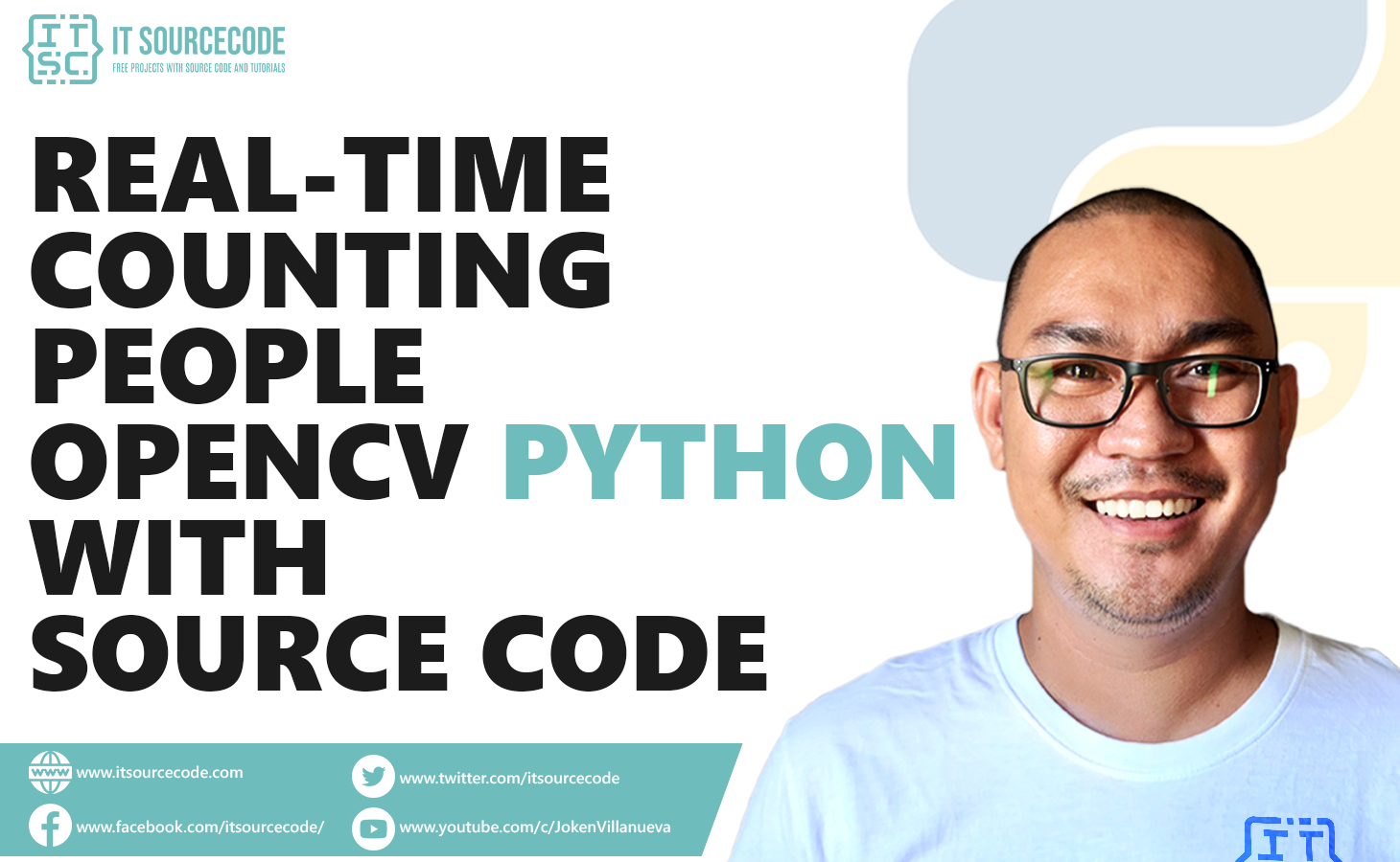 Real-Time Counting People OpenCV Python With Source Code