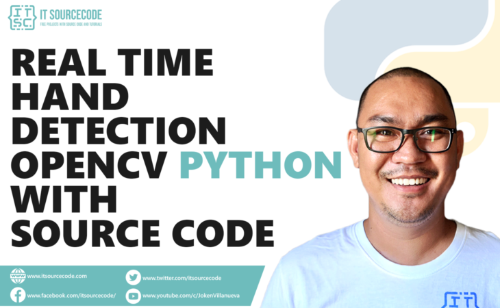 Real-Time Hand Detection OpenCV Python With Source Code