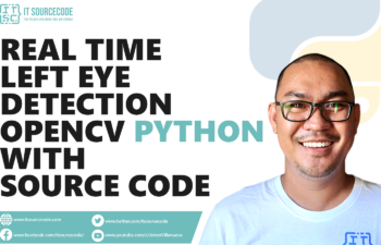 Real-Time Left Eye Detection OpenCV Python With Source Code