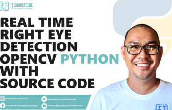 Real-Time Right Eye Detection OpenCV Python With Source Code