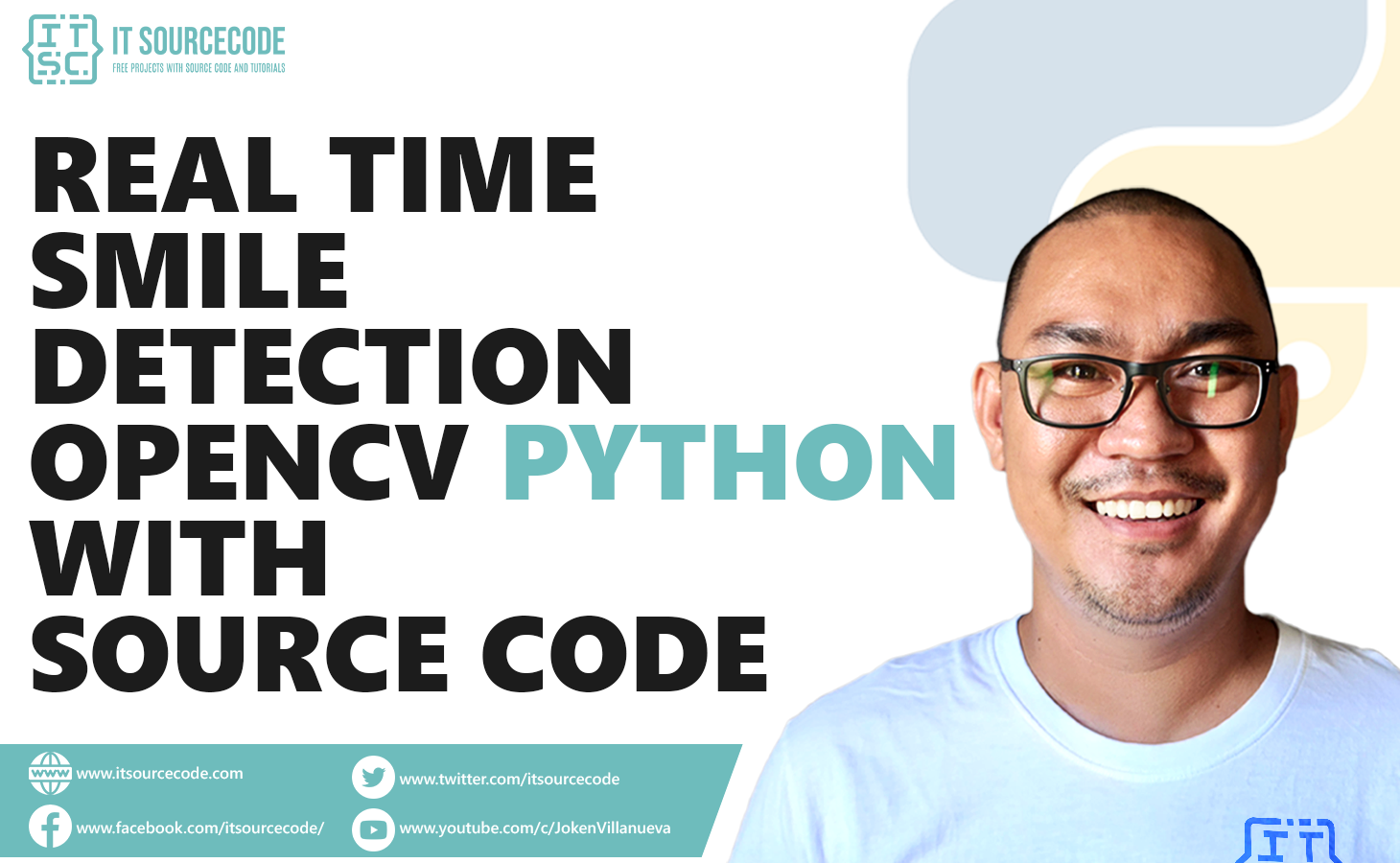Real-Time Smile Detection OpenCV Python With Source Code