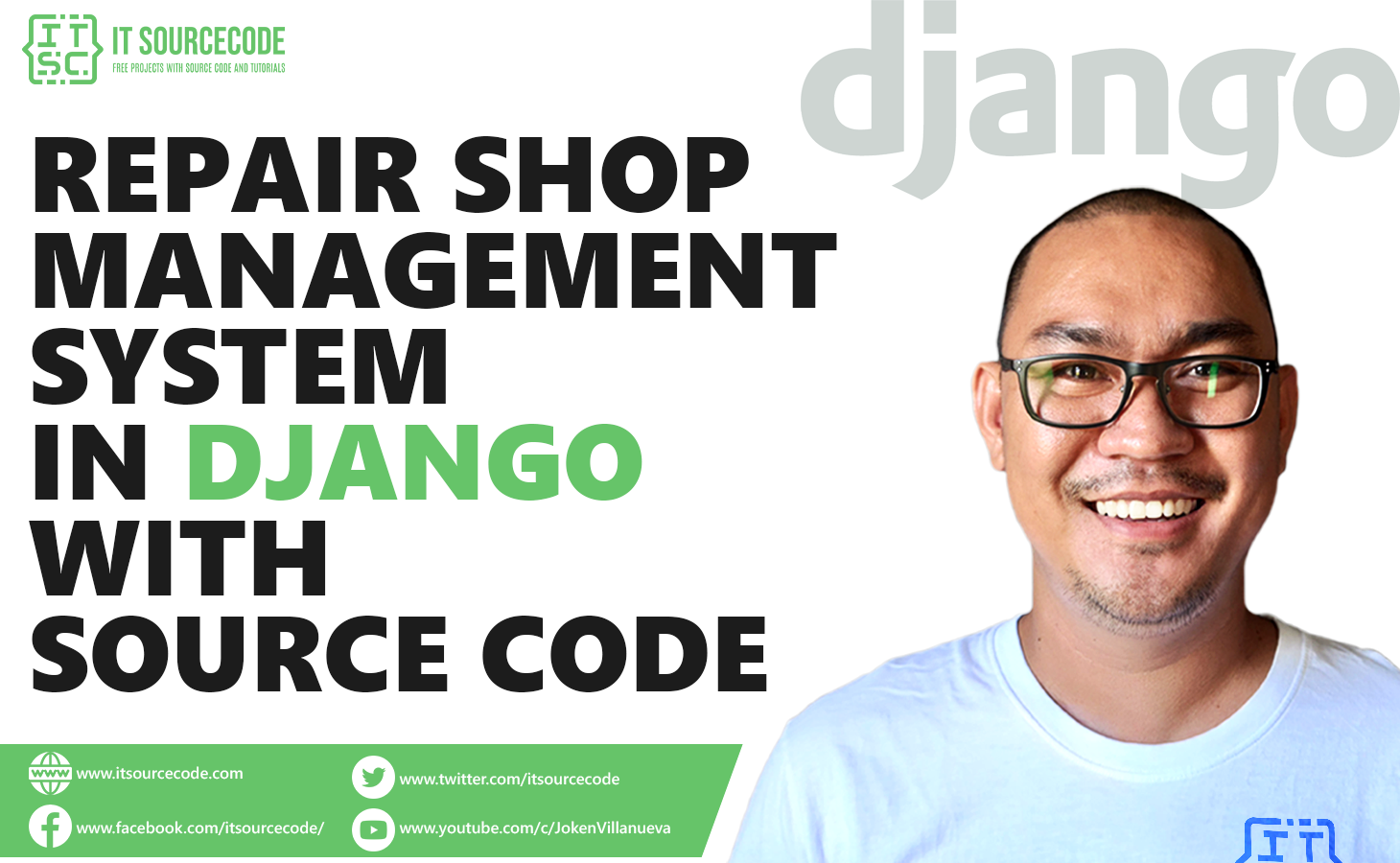 Repair Shop Management System Project in Django with Source Code