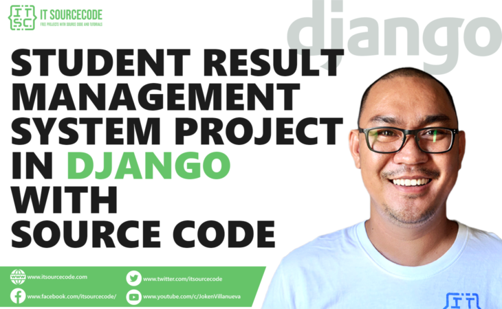 Student Result Management System Project in Django with Source Code