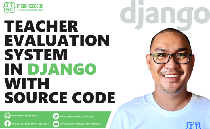 Teacher Evaluation System Project in Django with Source