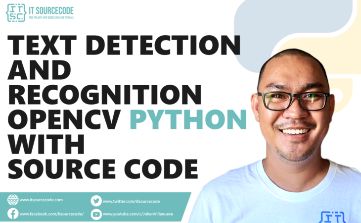 Real-Time Text Detection and Recognition OpenCV Python With Source Code
