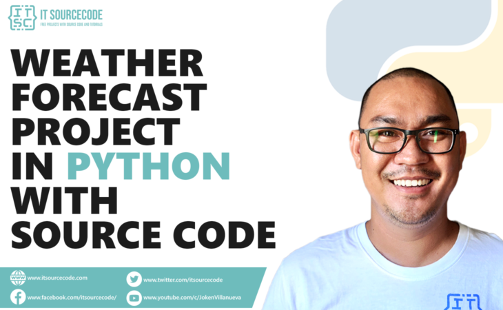 Weather Forecast Project In Python With Source Code