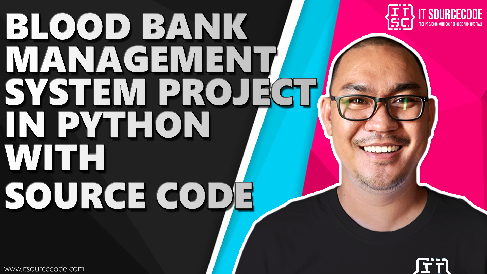 blood bank management system project in python with source code