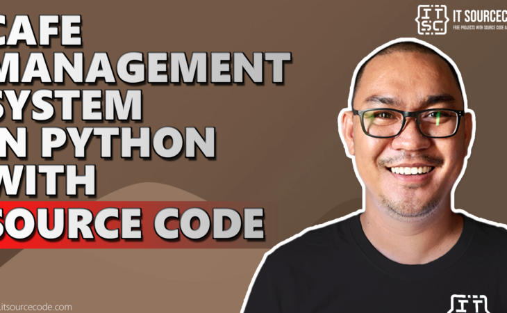 cafe management system in python with source code