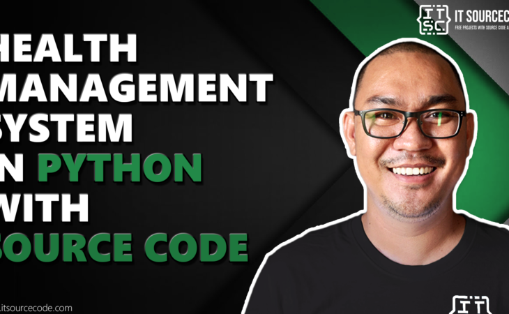 health management system in python with source code