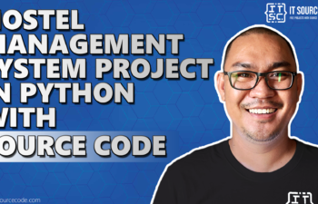 hostel management system project in python with source code