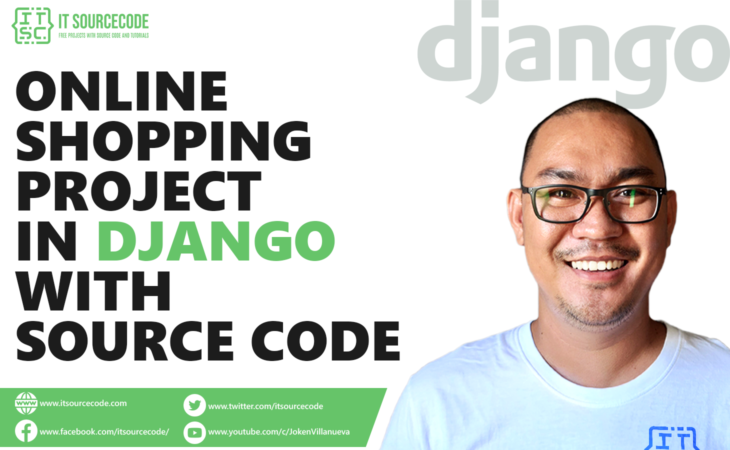 online Shopping Project in Django with Source Code