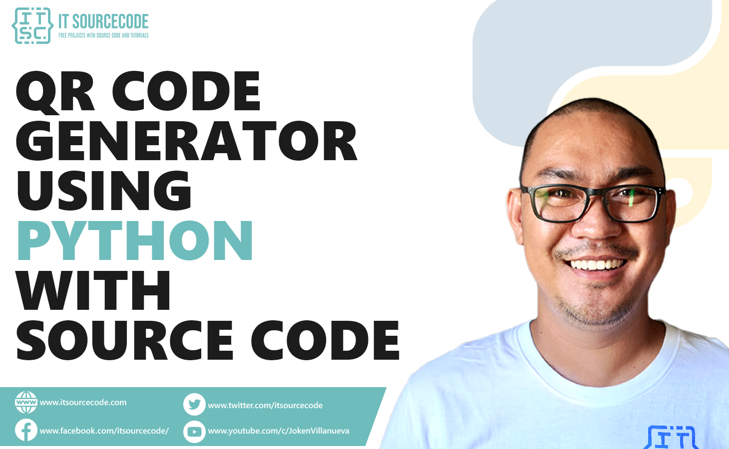 qr code generator in python with source code
