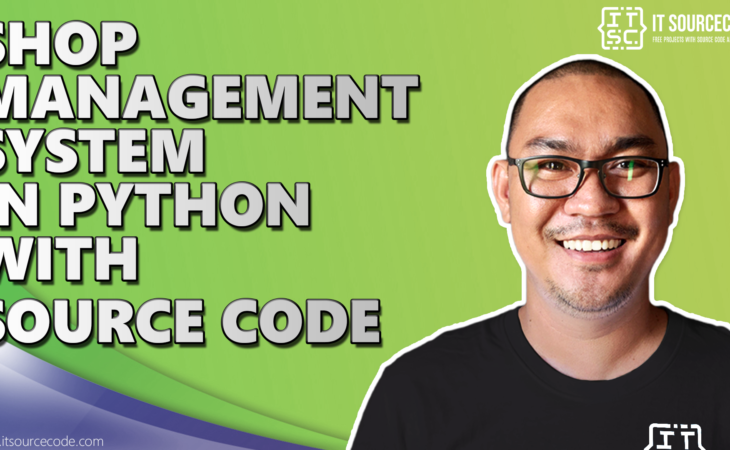 shop management system in python with source code