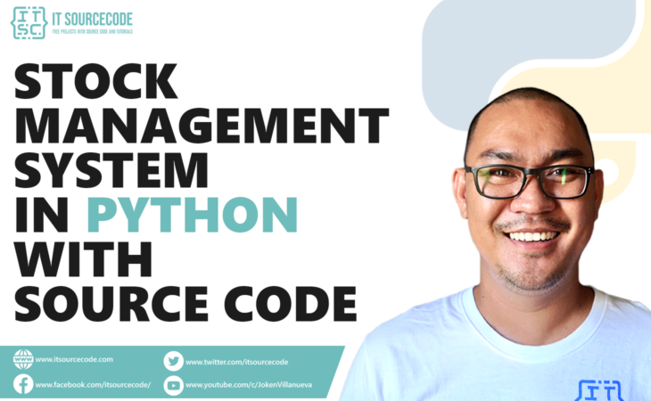 stock management system in python with source code