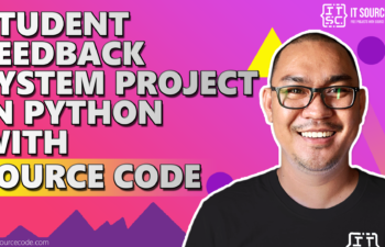 student feedback system project in python with source code