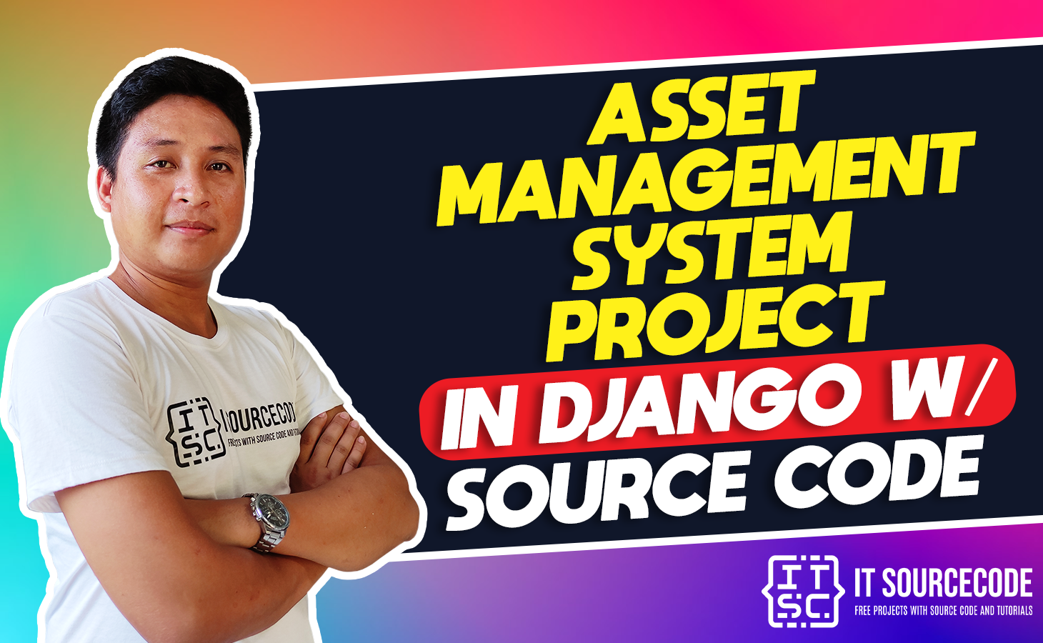 Asset management system project in django with source code