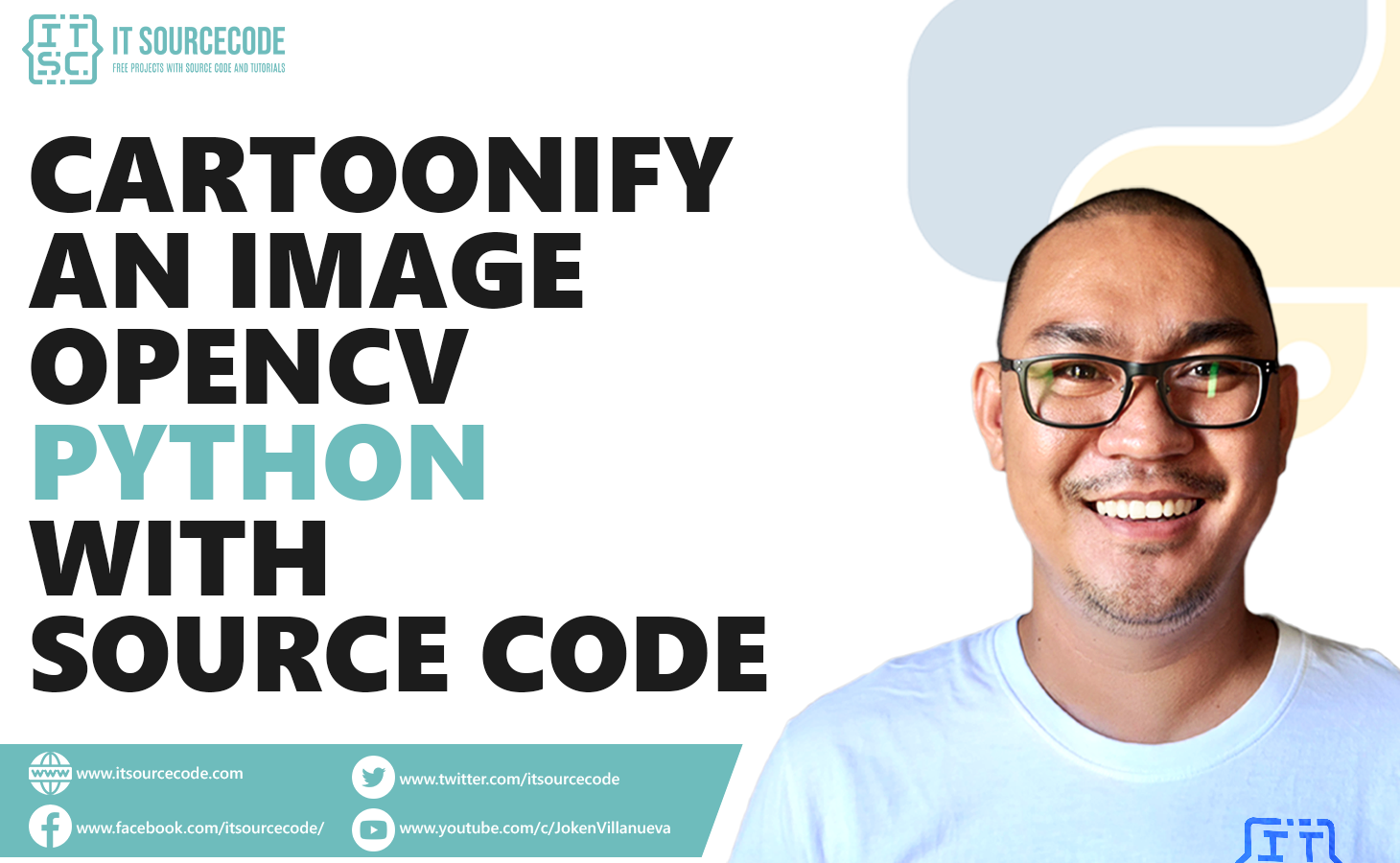 Cartoonify an Image OpenCV Python With Source Code