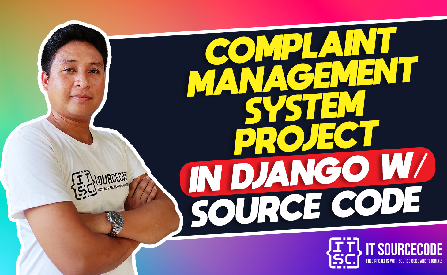 Complaint Management System Project in Django with Source Code