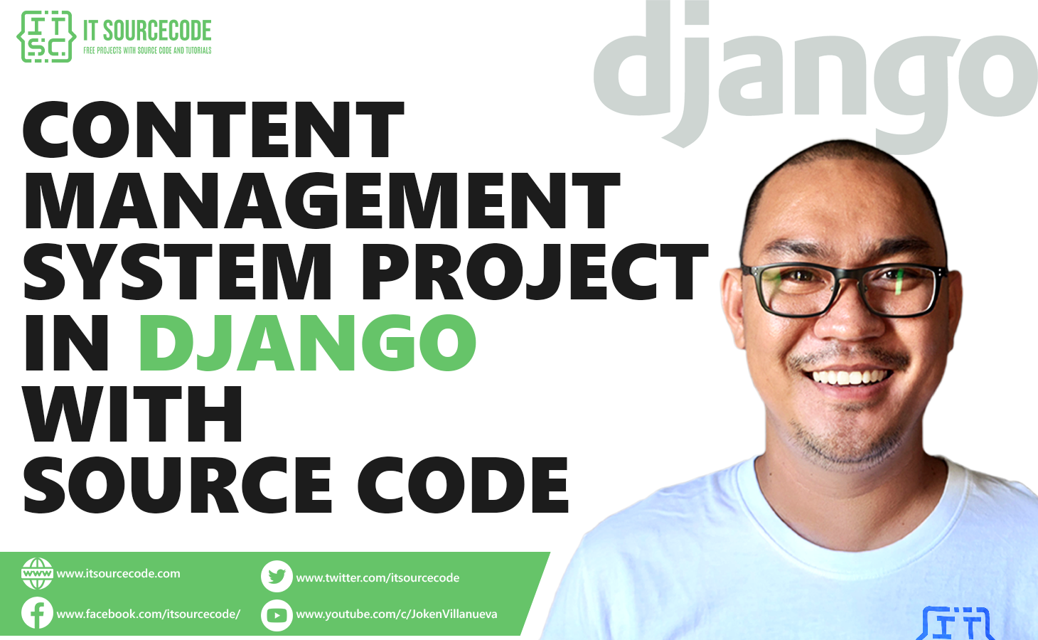 Content Management System Project in Django with Source Code