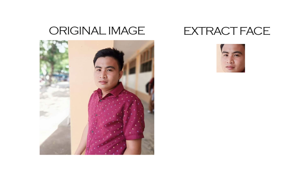 Extract Faces From Image OpenCV Python Output
