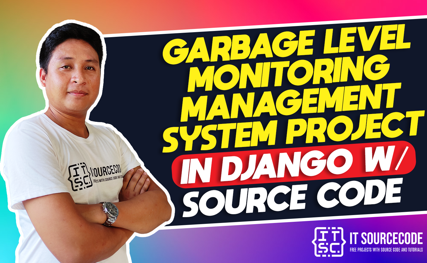 Garbage Level Monitoring System Project in Django with Source Code