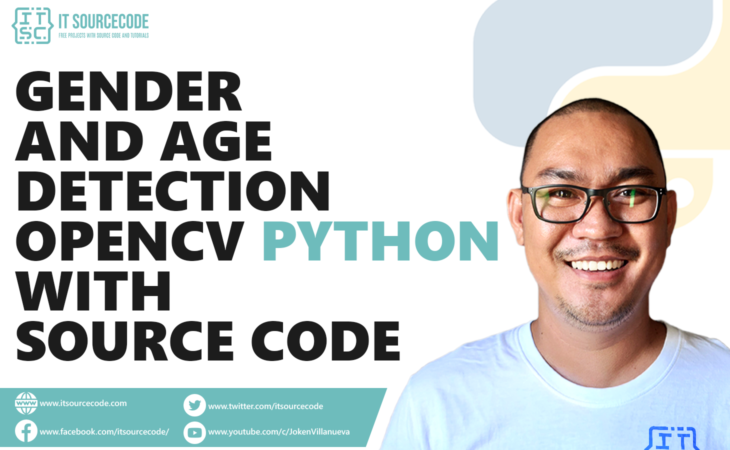 Gender and Age Detection OpenCV Python With Source Code