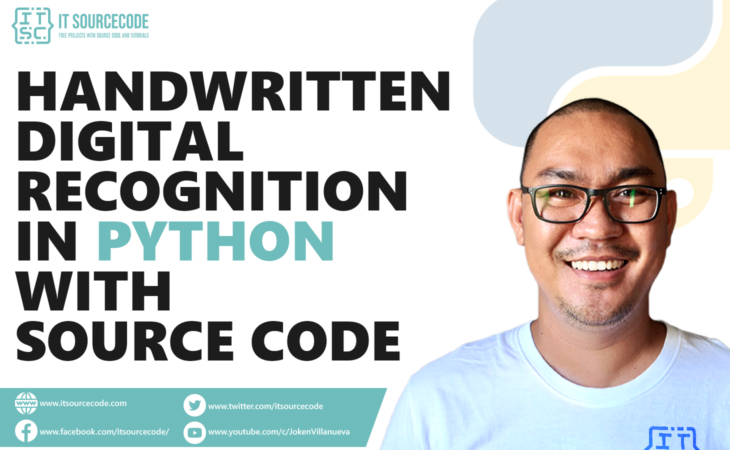 Handwritten Digit Recognition In Python With Source Code