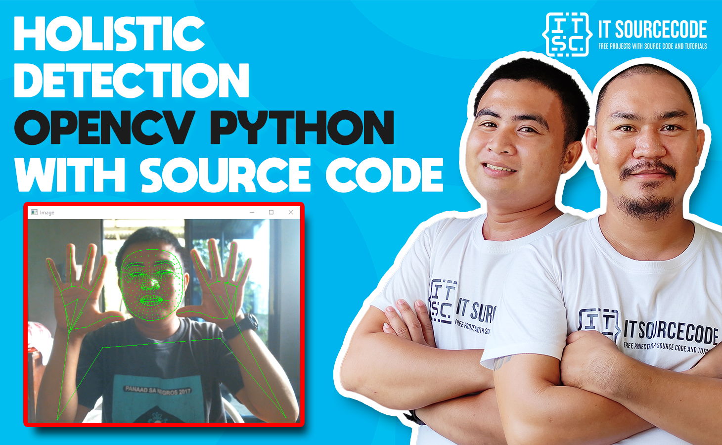 Holistic Detection OpenCV Python With Source Code