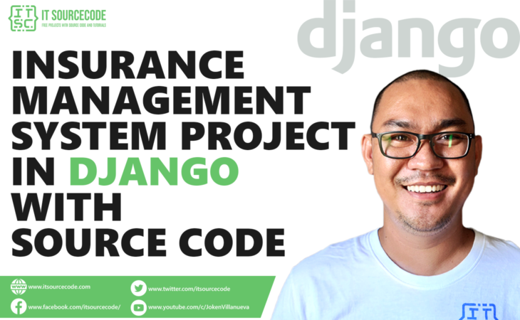 Insurance Management System Project in Django with Source Code