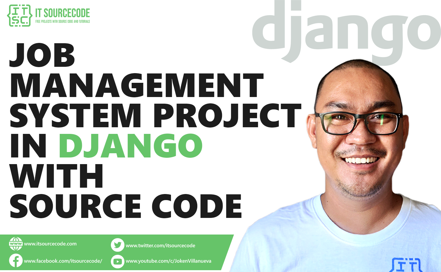 Job Management System Project in Django with Source Code