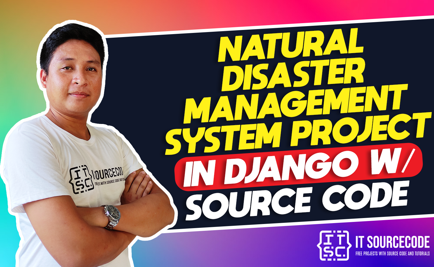Natural Disaster Management System Project in Django with Source Code