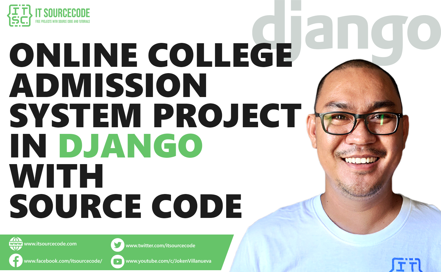 Online College Admission System Project in Django with Source Code
