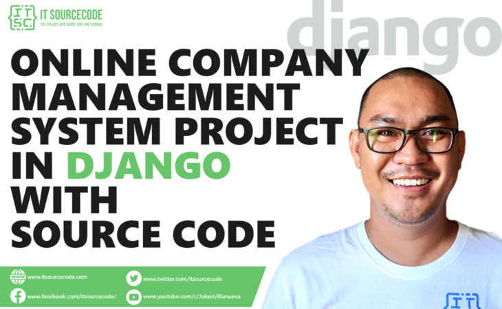 Online Company Management System Project in Django with Source Code