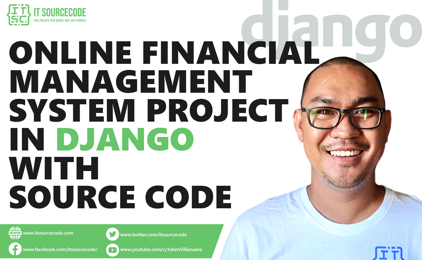 Online Financial Management System Project in Django with Source Code