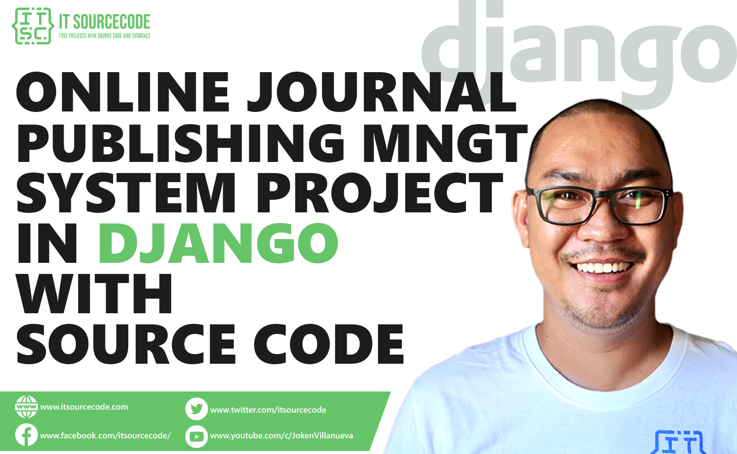 Online Journal Management System in Django with Source Code