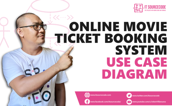 Online Movie Ticket Booking System Use Case Diagram