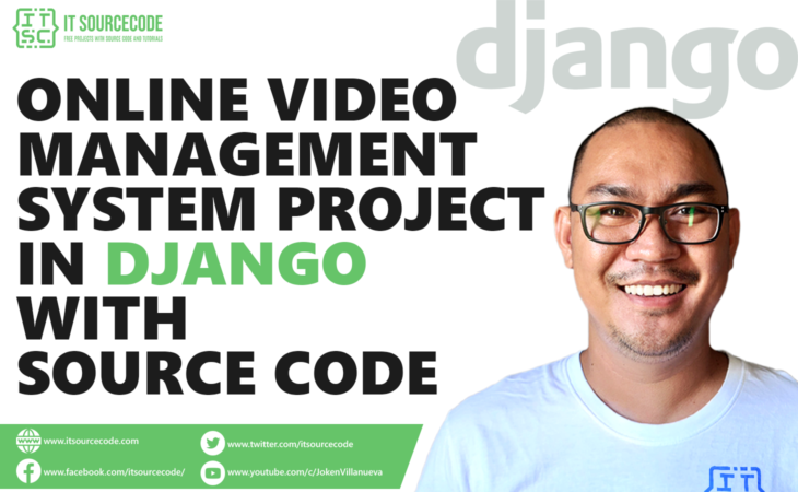 Online Video Management System Project in Django with Source Code