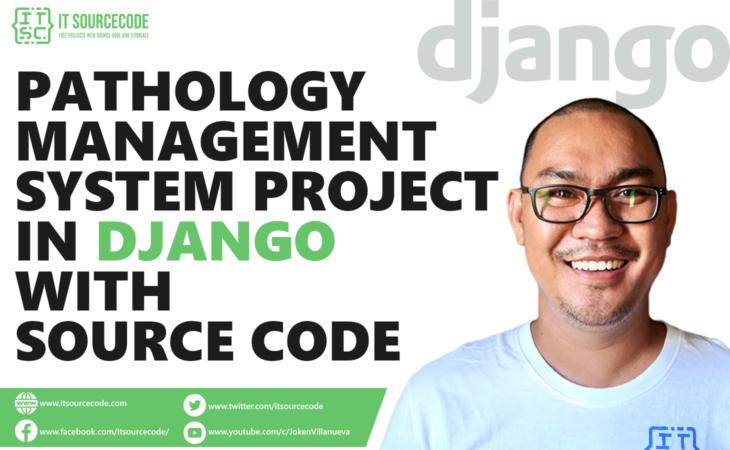 Pathology Management System Project in Django with Source Code