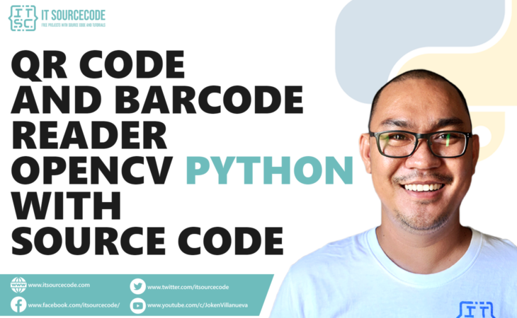 Qr Code and Barcode Reader OpenCV Python With Source Code