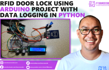 RFID Door Lock with Data Logging Project in Arduino and Python