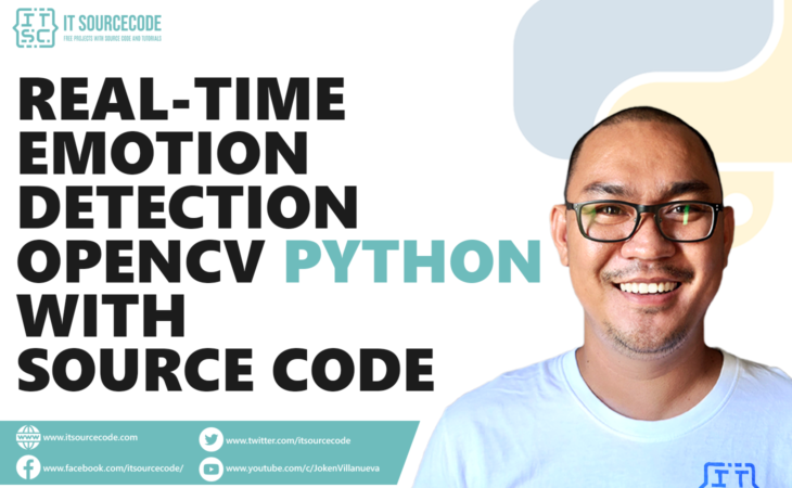 Real-Time Emotion Detection OpenCV Python With Source Code